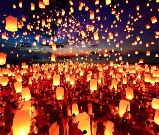 TAILANDIA con Festival Yi Peng & DUBAI
